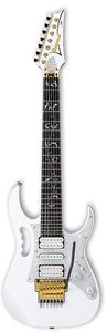 Guitarra Ibanez Jem 7 V 7 White c/ Case Made in Japan