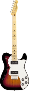 Guitarra Fender 024 1202 Modern Player Telecaster  Thinline Deluxe 500
