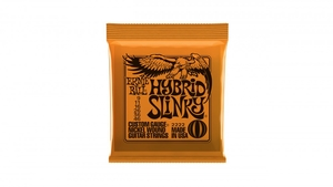 Encordoamento Guitarra Ernie Ball .009 / .045  Hybrid Super Slinky 2222