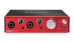 Interface Áudio Focusrite Clarett 2 Pre Thunderbolt