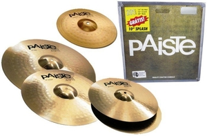 Kit Prato Paiste 201 Bronze Set 141620+ Splash 10