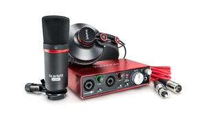 Kit Focusrite Scarlett Studio