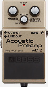 Pedal Boss AD 2 Acoustic Preamp