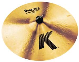 Prato Zildjian K Series 18 K0915 Dark Medium Thin Crash