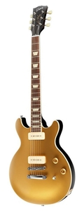 Guitarra Gibson Les Paul Double Cutway P 90 Bullion Gold