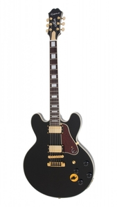 Guitarra Epiphone Semi-Acústica BB King Lucille Black