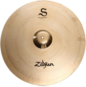 Prato Zildjian S Family 24 S24MR Medium Ride