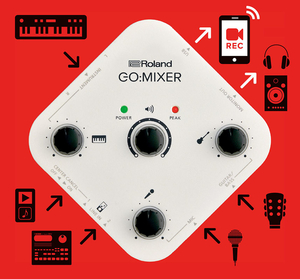 Interface Audio Roland GO MIXER Para Smartphones