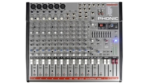 Mesa de Som Phonic AM 642 D USB