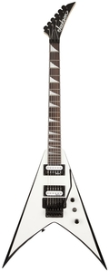 Guitarra Jackson King V 291 0123 JS 32 577 White Whit White Bevels