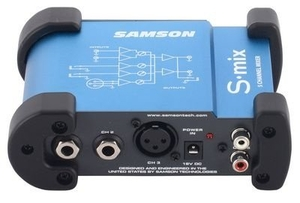Mini Mixer Samson S Mix 5 Canais
