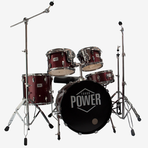 Bateria Turbo Power Sparkle Red