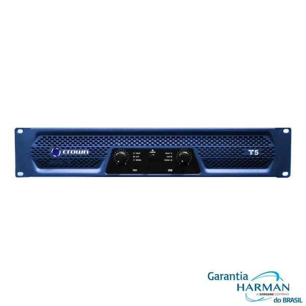 Amplificador Potência Crown T 5 - 2 x 750 Wrms (220v) - Musitech ... 1e49de5d19