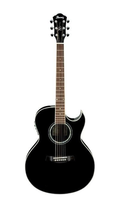 Violão Eletroacústico Joe Satriani Signature 6 Cordas Aço Jsa5 Preto - Ibanez