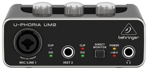 Interface Audio Behringer U Phoria UM 2