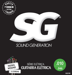 Encordoamento Guitarra SG 010 Niquel 5198