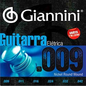 Encordoamento Guitarra Giannini GEEGST 009