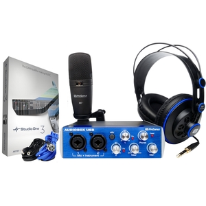 Kit Presonus Audiobox USB 96 Studio