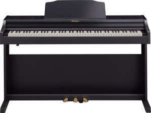 Piano Digital Roland RP 501 R CB C. Black Com Banco