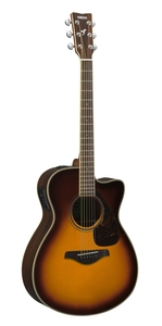Violão Yamaha FSX 830 C BS Brown Sunburst
