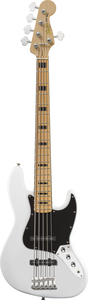 Contrabaixo Fender 030 6760 Squier Vintage Modified J Bass V 505 Olympic White