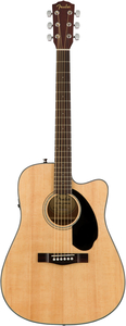 Violão Fender 096 1704 - CD 60 SCE - 021 - Dreadnought Natural