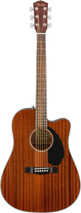 Violão Fender 096 1705 - CD 60 SCE - 021 - All Mahogany