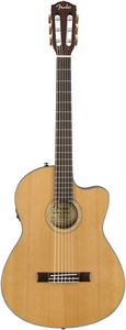 Violão Fender 096 2714 - CN 140 SCE Thinline Nylon Com Natural