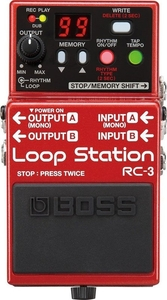 Pedal Boss RC 3 Loop Station