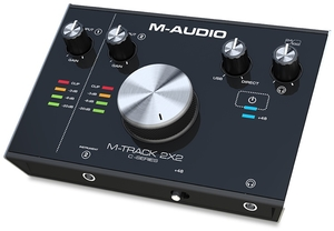 Interface De Áudio M Audio M track 2 x 2 USB 24Hz 192Khz