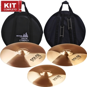 Kit Pratos Orion Solo Pro 10 SP70 Set 14/16/20 Com Bag