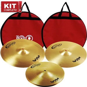 Kit Pratos Orion Twister TWR80 Set 13/16/20 Com Bag