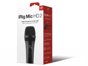 Microfone Ik Multimedia Irig Mic HD 2 Condenser Digital