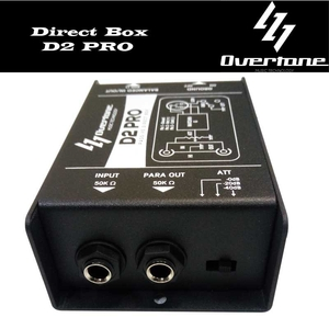 Direct Box Overtone D 2 Pro Passivo
