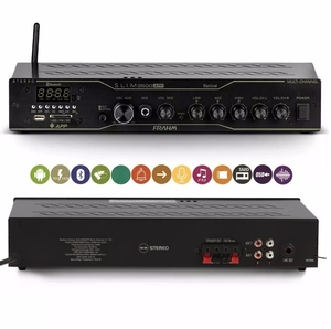 Amplificador Receiver Frahm Slim 3500 App Multi-Channel