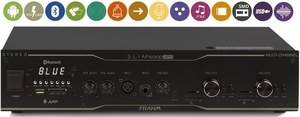 Amplificador Receiver Frahm Slim 5000 App Multi-Channel