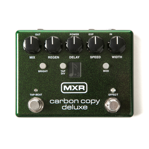 Pedal MXR M 292 Carbon Copy Deluxe Analog Delay