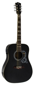 Violão Michael VM 925 DT BK Black Galaxy