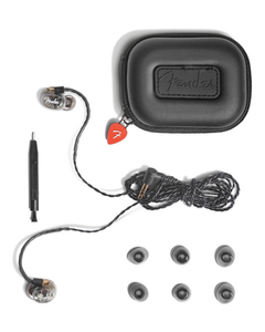 Fone Ouvido Fender In-Ear Monitor DXA1 - 688 1000 000 - Trans Charcoal