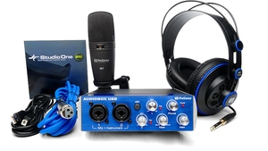 Kit Interface de Audio Presonus Audiobox USB 96 Studio