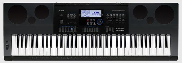2ce7f2d698f Teclado Casio WK 6600 - Musitech Instrumentos Musicais