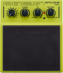 Pad Percussão Digital Roland SPD ONE KICK