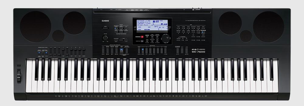 020b6af2b1b Teclado Casio WK 7600 - Musitech Instrumentos Musicais