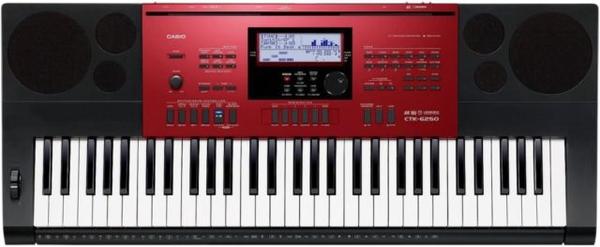 bc68282b252 Teclado Casio CTK 6250 - Musitech Instrumentos Musicais
