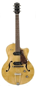Guitarra Godin Semi-Acústica 5 th Avenue CW Kingpin II Natural c/ TRIC