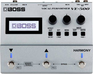 Pedal Boss VE 500 Vocal Performer