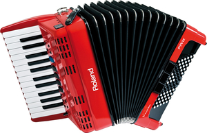Acordeon Roland FR 1 X RD V-Accordion + Bag Original