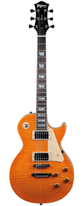 Guitarra Tagima Les Paul TLP Flamed TA Transparent Amber C/Case New