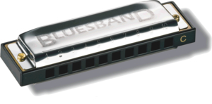 Gaita Hohner Blues Band C M55901X 559/20 C
