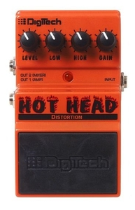 Pedal Digitech Hot Head Distortion